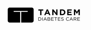 mark for T TANDEM DIABETES CARE, trademark #85080230