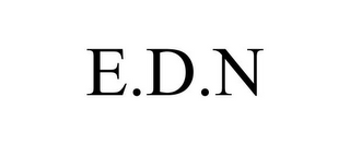 mark for E.D.N, trademark #85080259