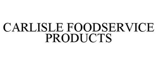 mark for CARLISLE FOODSERVICE PRODUCTS, trademark #85082365
