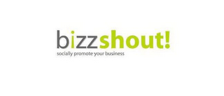 mark for BIZZSHOUT! SOCIALLY PROMOTE YOUR BUSINESS, trademark #85082382