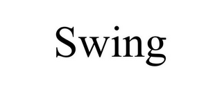 mark for SWING, trademark #85082774