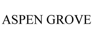 mark for ASPEN GROVE, trademark #85084628