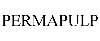 mark for PERMAPULP, trademark #85084798