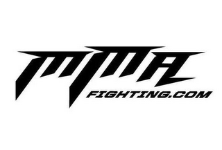 mark for MMA FIGHTING.COM, trademark #85085395
