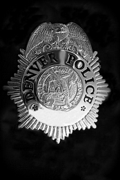 mark for DENVER POLICE, trademark #85086333