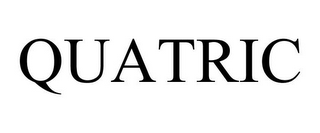 mark for QUATRIC, trademark #85086678