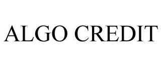 mark for ALGO CREDIT, trademark #85086839