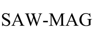 mark for SAW-MAG, trademark #85088222