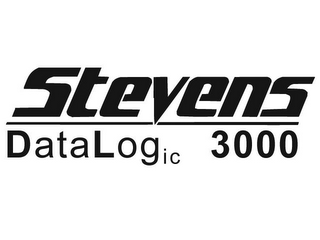 mark for STEVENS DATALOGIC 3000, trademark #85088917