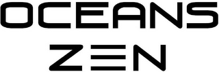 mark for OCEANS ZEN, trademark #85089013