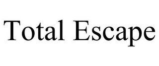 mark for TOTAL ESCAPE, trademark #85090399