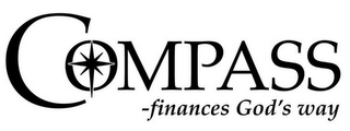 mark for COMPASS - FINANCES GOD'S WAY, trademark #85091266