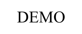 mark for DEMO, trademark #85092512