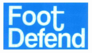 mark for FOOT DEFEND, trademark #85093337