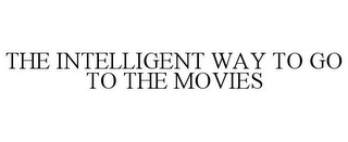 mark for THE INTELLIGENT WAY TO GO TO THE MOVIES, trademark #85093421