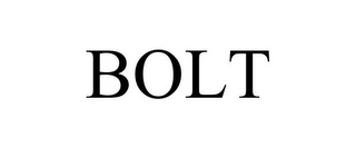 mark for BOLT, trademark #85094420