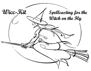 mark for WICC-KIT SPELLCASTING FOR THE WITCH ON THE FLY, trademark #85095154