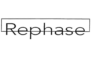 mark for REPHASE, trademark #85095422