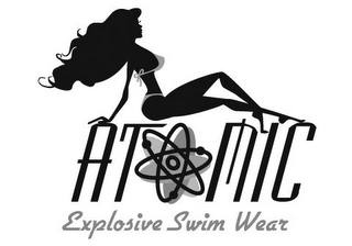 mark for ATOMIC EXPLOSIVE SWIM WEAR, trademark #85096169