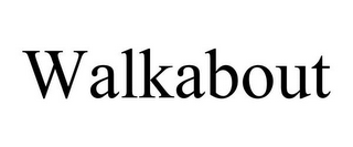 mark for WALKABOUT, trademark #85097295