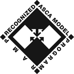 mark for RECOGNIZED ASCA MODEL PROGRAM RAMP, trademark #85097874