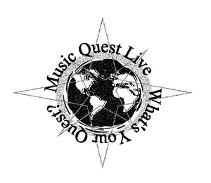 mark for MUSIC QUEST LIVE WHAT'S YOUR QUEST?, trademark #85098871