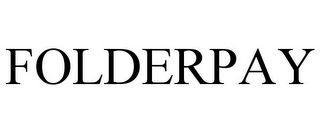 mark for FOLDERPAY, trademark #85099754