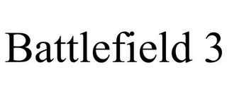 mark for BATTLEFIELD 3, trademark #85100273