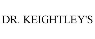 mark for DR. KEIGHTLEY'S, trademark #85100780