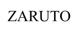 mark for ZARUTO, trademark #85103588