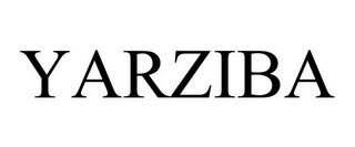 mark for YARZIBA, trademark #85103599