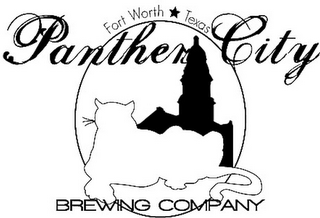mark for FORT WORTH TEXAS PANTHER CITY BREWING COMPANY, trademark #85103606