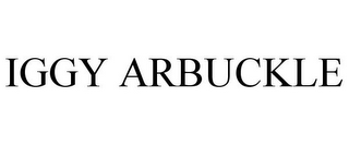 mark for IGGY ARBUCKLE, trademark #85104194