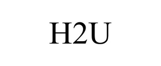 mark for H2U, trademark #85104485