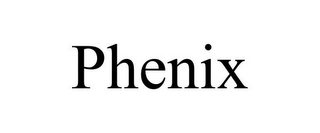 mark for PHENIX, trademark #85104837