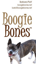 mark for BOOGIE BONES, trademark #85106909