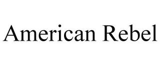 mark for AMERICAN REBEL, trademark #85107501