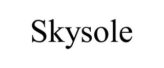 mark for SKYSOLE, trademark #85108686