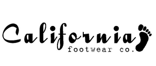 mark for CALIFORNIA FOOTWEAR CO., trademark #85108782