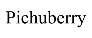 mark for PICHUBERRY, trademark #85109884