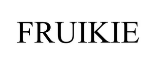 mark for FRUIKIE, trademark #85112045