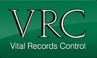 mark for VRC VITAL RECORDS CONTROL, trademark #85113122