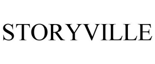 mark for STORYVILLE, trademark #85113917