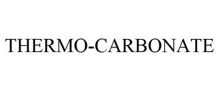 mark for THERMO-CARBONATE, trademark #85117072