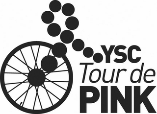 mark for YSC TOUR DE PINK, trademark #85117433