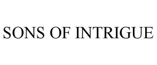 mark for SONS OF INTRIGUE, trademark #85117840