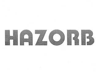mark for HAZORB, trademark #85117927