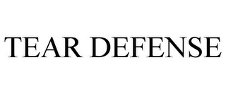 mark for TEAR DEFENSE, trademark #85118407
