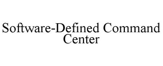 mark for SOFTWARE-DEFINED COMMAND CENTER, trademark #85119647