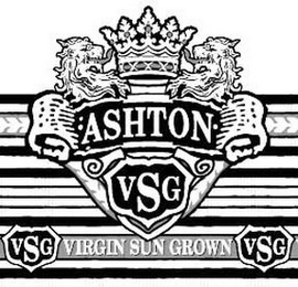 mark for ASHTON VSG VIRGIN SUN GROWN, trademark #85121029